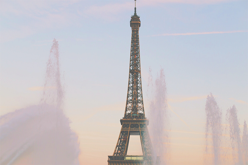 Eiffel Tower photography by Emily Robson