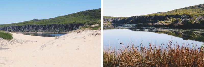 We Are Wild Camping - Bournda Lagoon