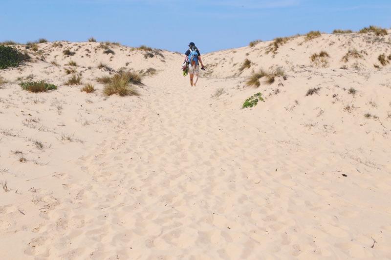 We Are Wild Camping Bournda beach