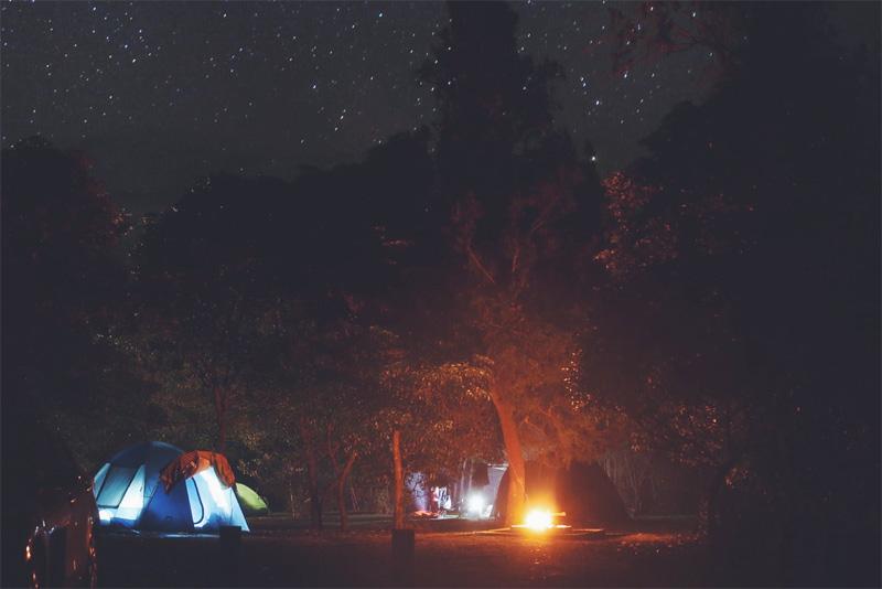 We Are Wild Camping - Hobart beach campground
